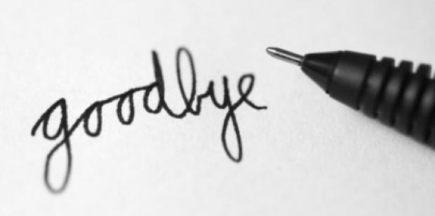 good bye départ